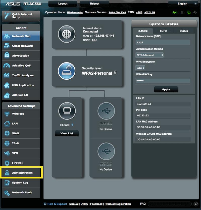 Configuration VPN routeur