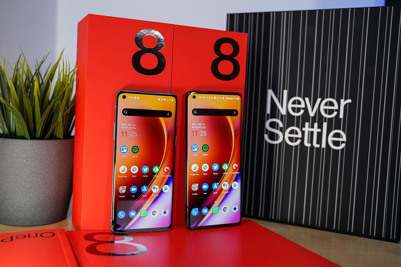 Les écrans des OnePlus 8 et 8 Pro