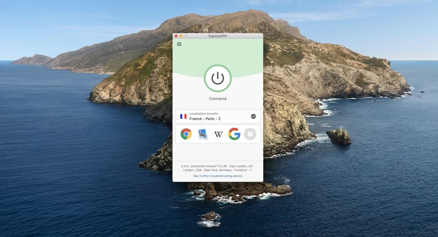 ExpressVPN Mac App On