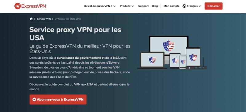 ExpressVPN VPN USA
