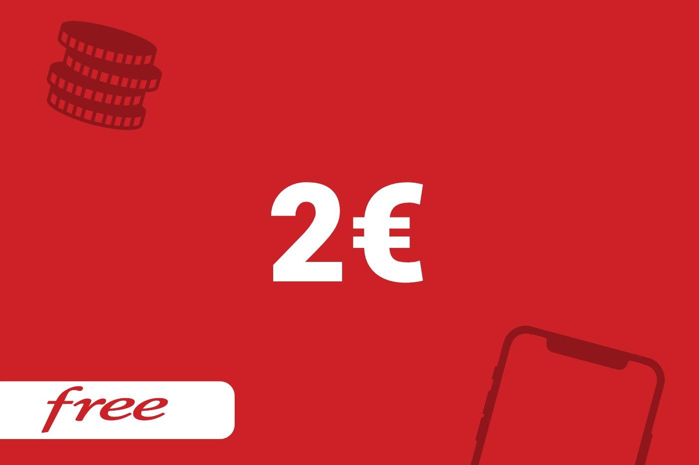 Forfait Free 2€