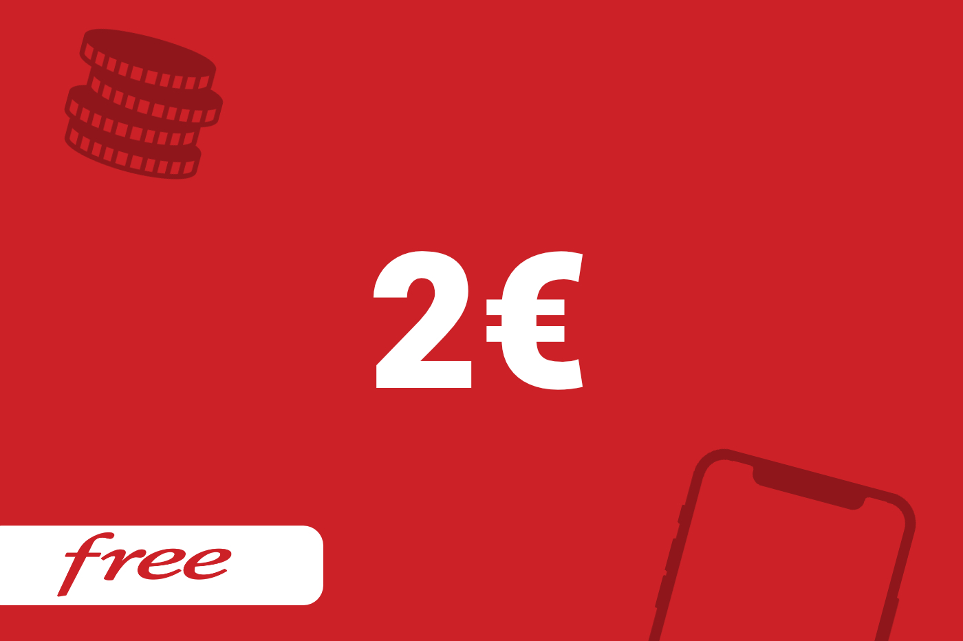 forfait free 2 euros quels pays