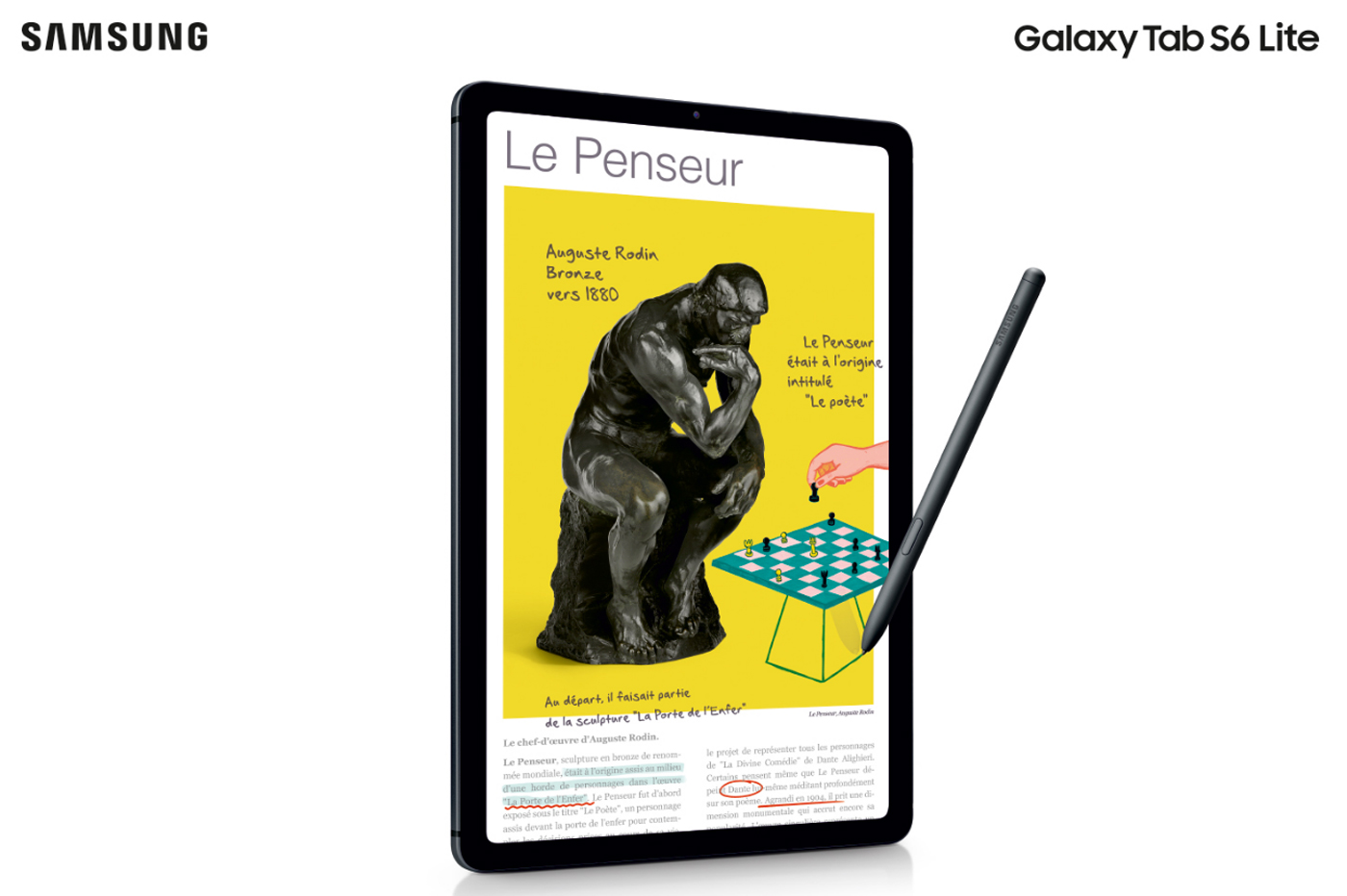Samsung Galaxy Tab S6 Lite Android