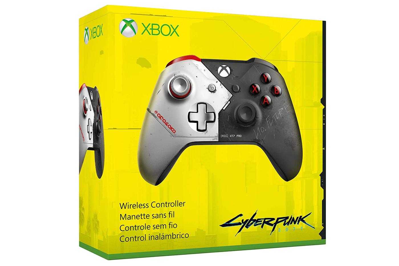 Cyberpunk 2077 : Amazon fait fuiter une manette Xbox One en édition limitée