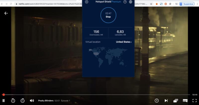 Netflix Hotspot Shield