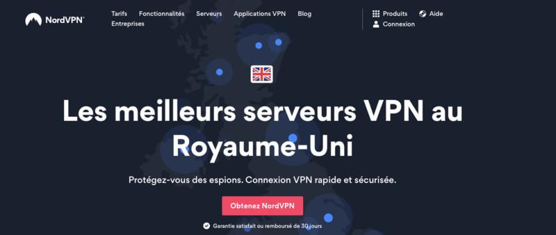 NordVPN VPN UK