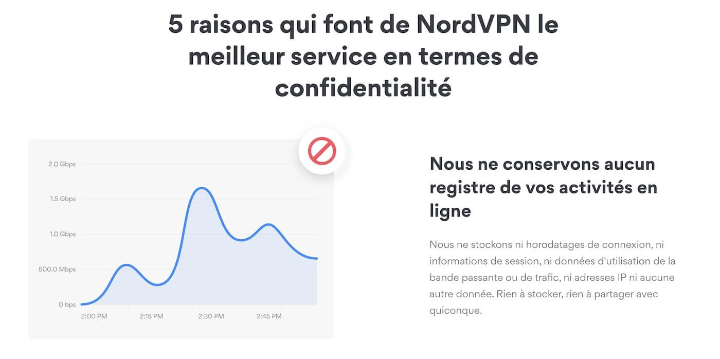 NordVPN no log VPN