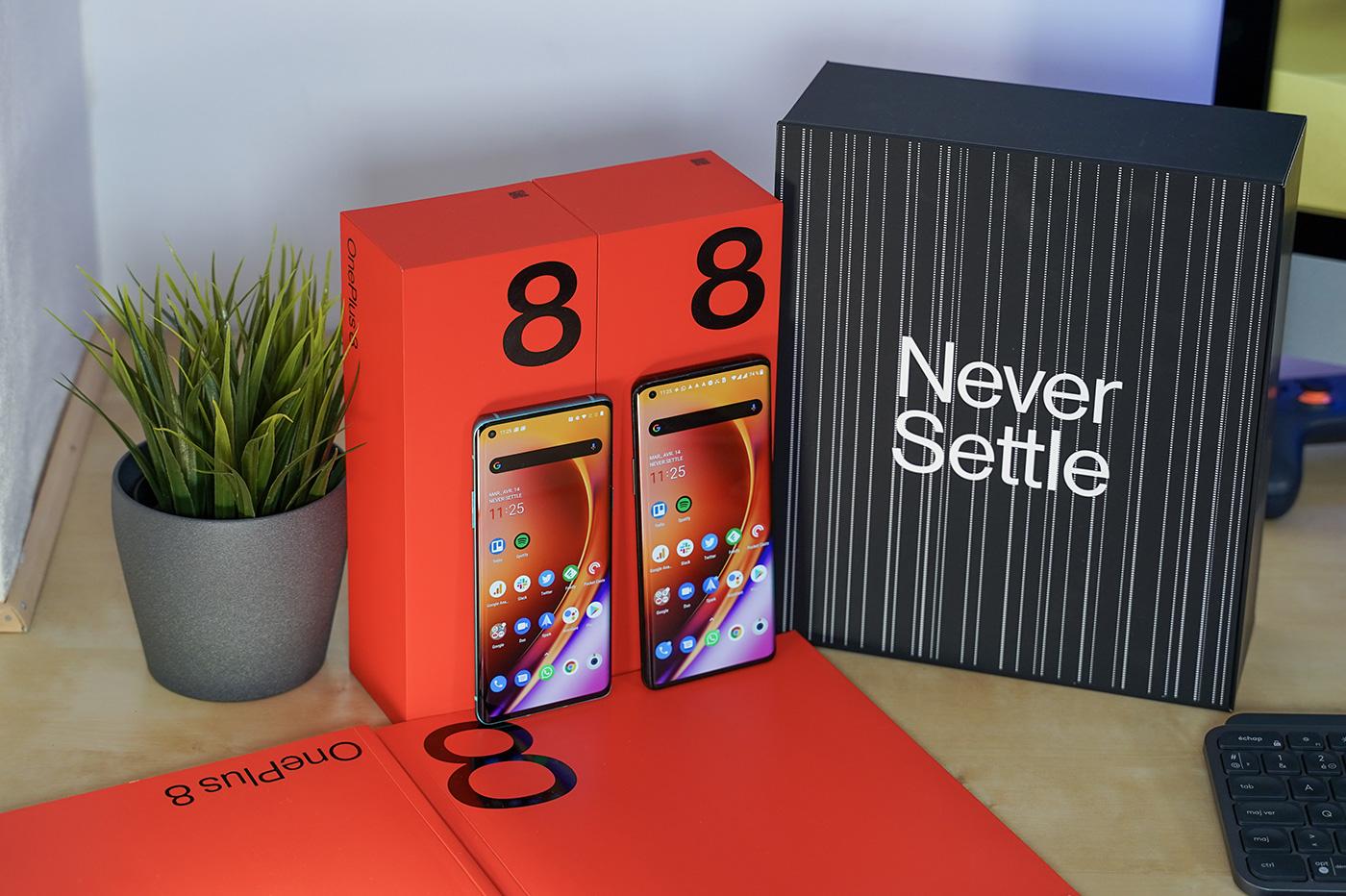 OnePlus 8 et OnePlus 8 Pro