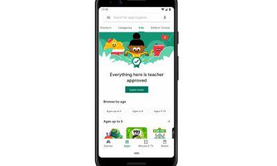 Section Kids Google Play Store