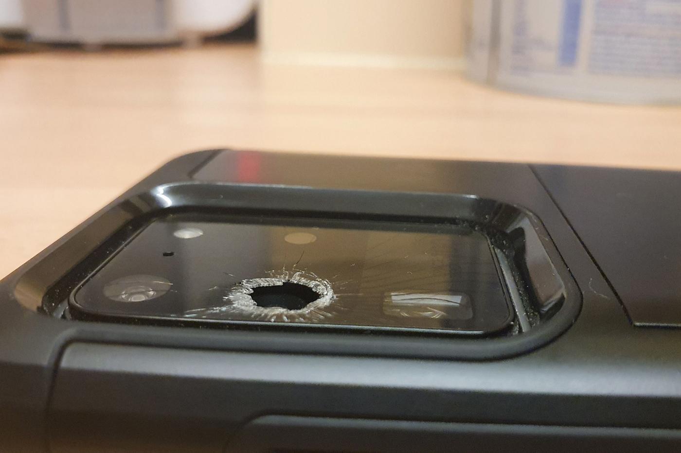 Vitre cassée Samsung Galaxy S20 Ultra