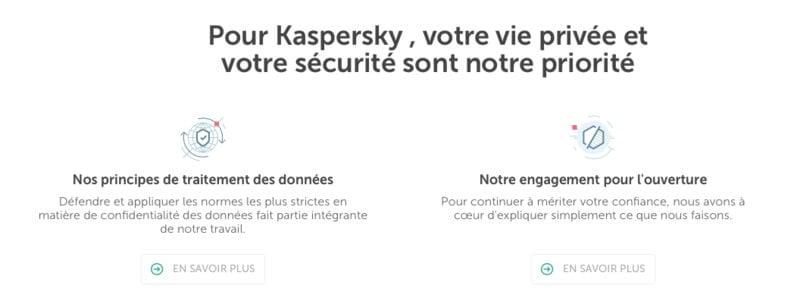 Sécurité Kaspersky VPN