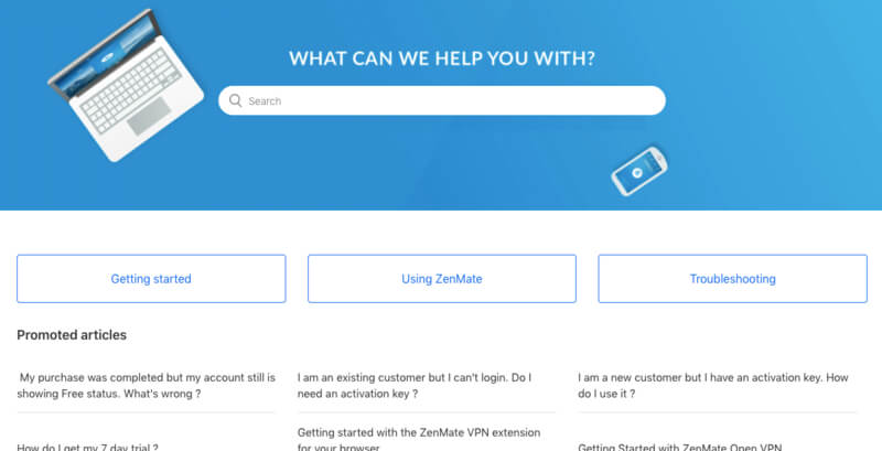 Support ZenMate