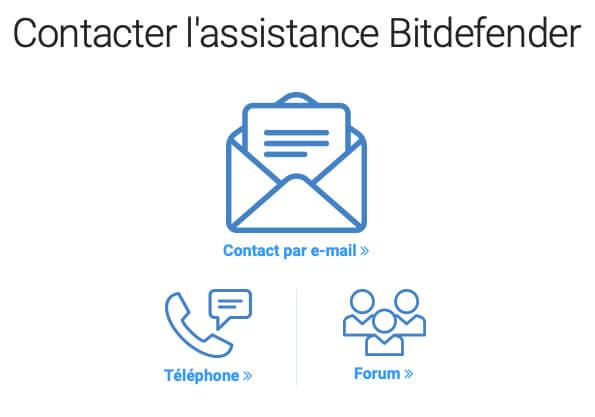Téléphone Bitdefender VPN