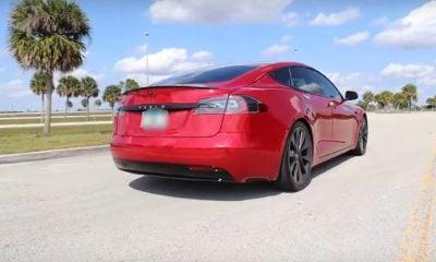 Tesla Model S Cheetah Mode