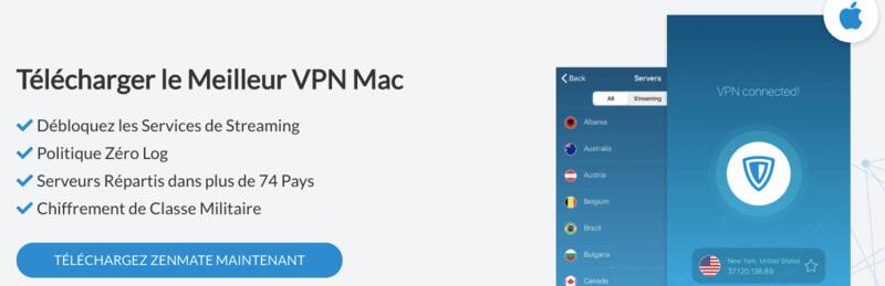 VPN Mac ZenMate