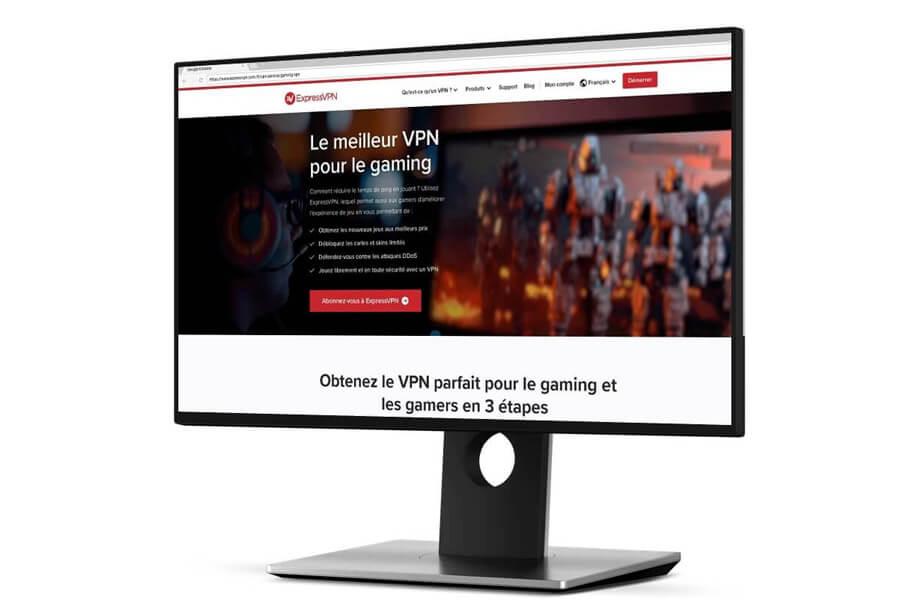 VPN jeux en ligne ExpressVPN