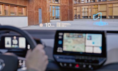 Volkswagen ID.3 navigation HUD