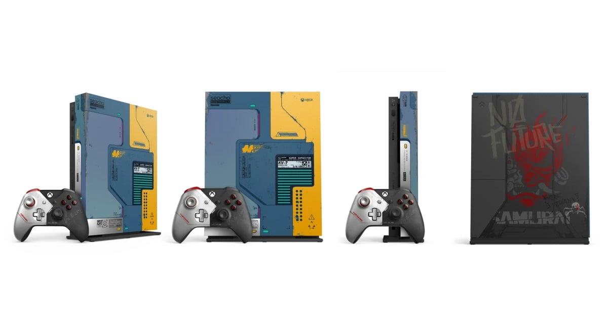 Console Xbox One X Collector Cyberpunk 2077