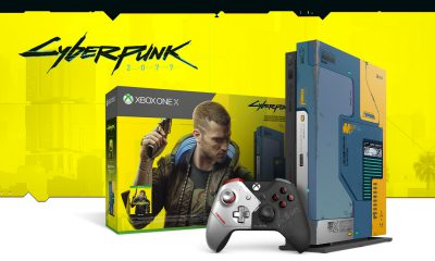 Console Xbox One X Collector Cyberpunk 2077