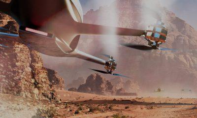 Airspeeder voiture volante course