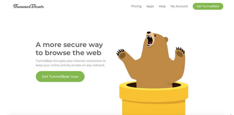 avis VPN gratuit TunnelBear
