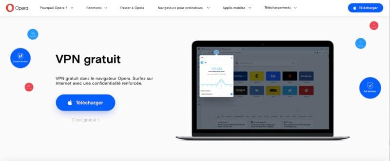 avis et test Opera VPN