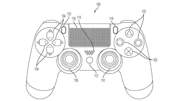 Brevet PS5 DualSense