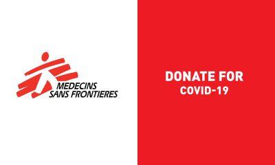 Médecins Sans Frontières Campagne Covid19