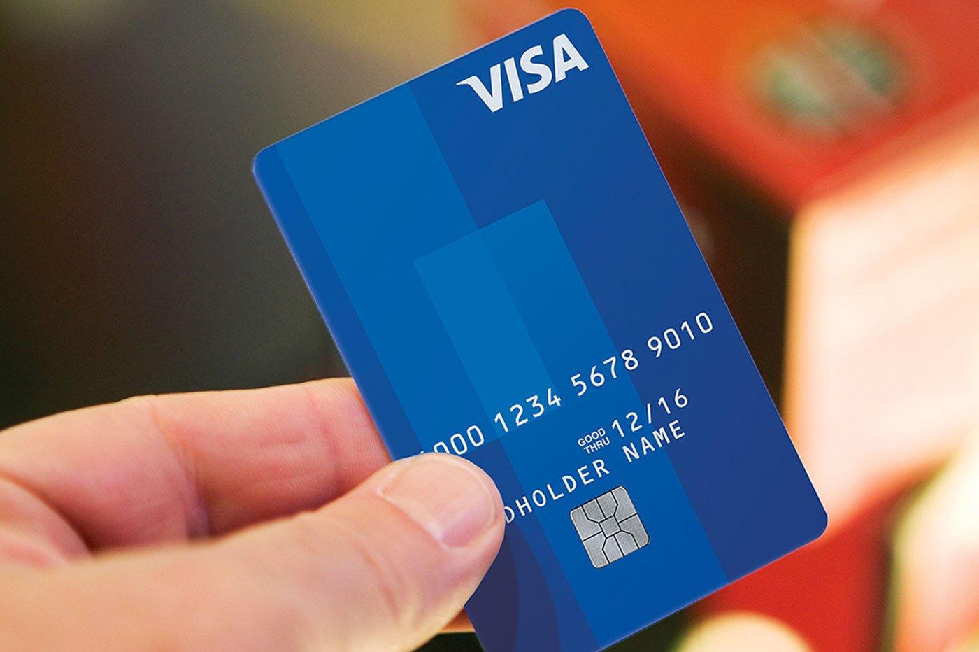 Carte bancaire muette