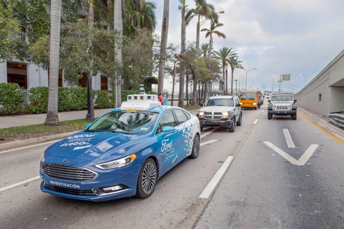 Ford taxis autonomes
