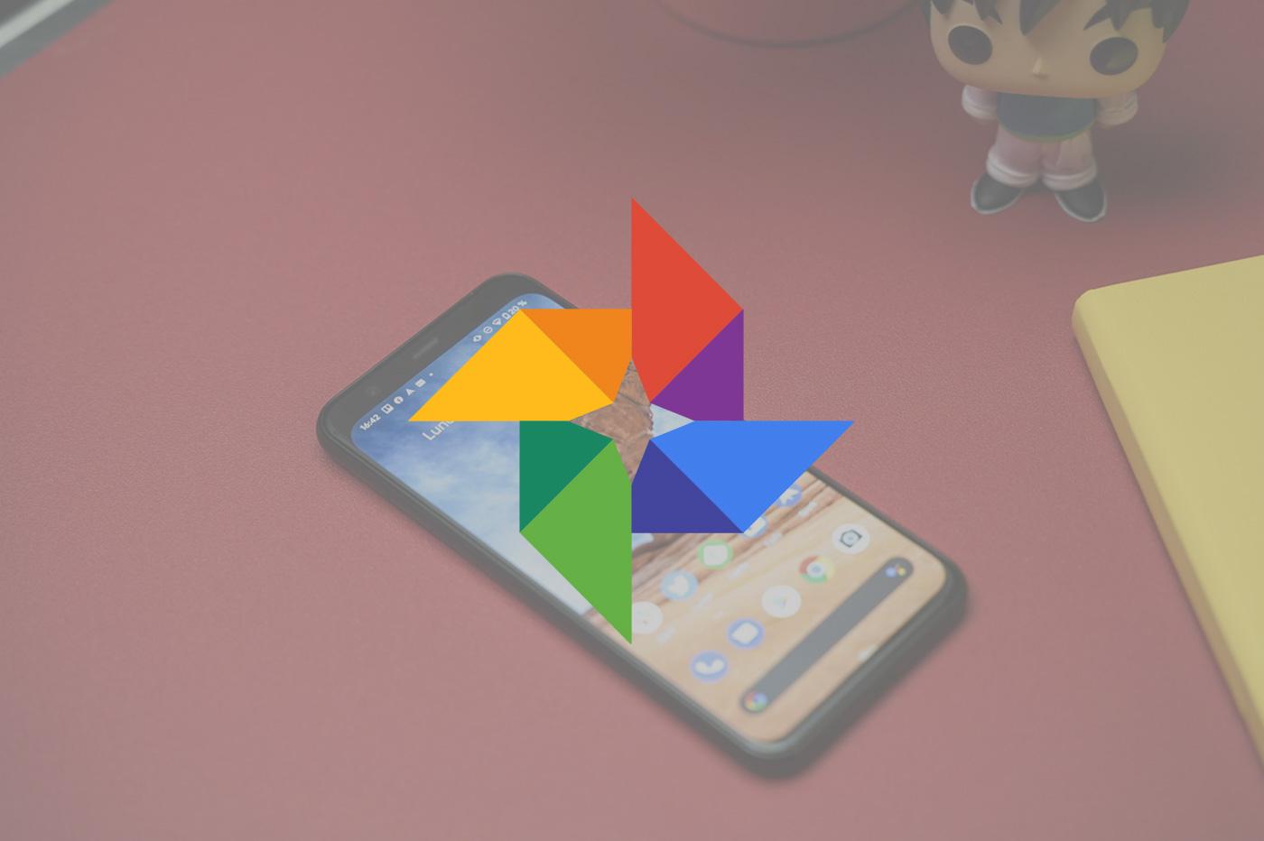 Google Photos audio vidéo