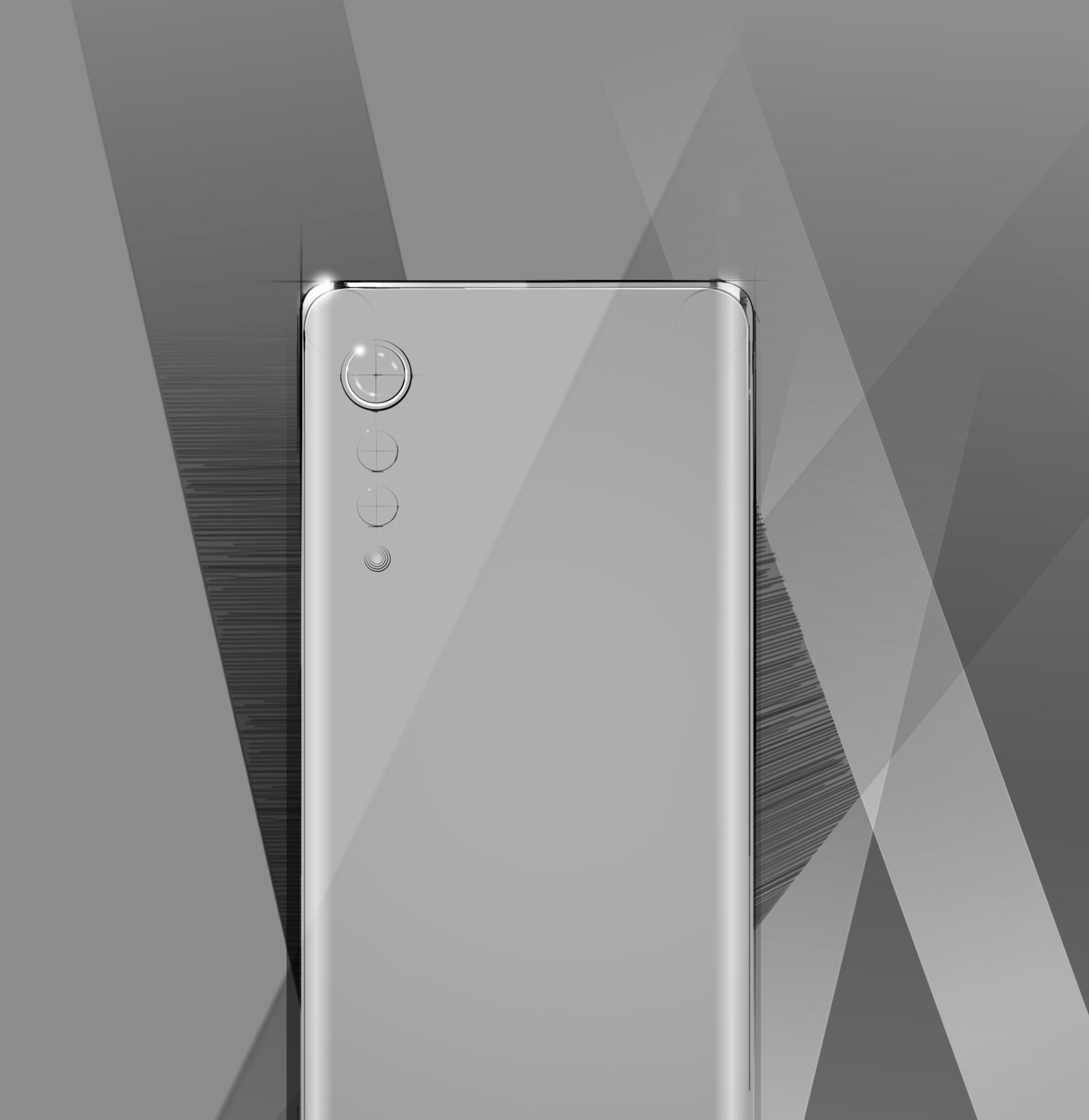 LG smartphone nouveau design dos