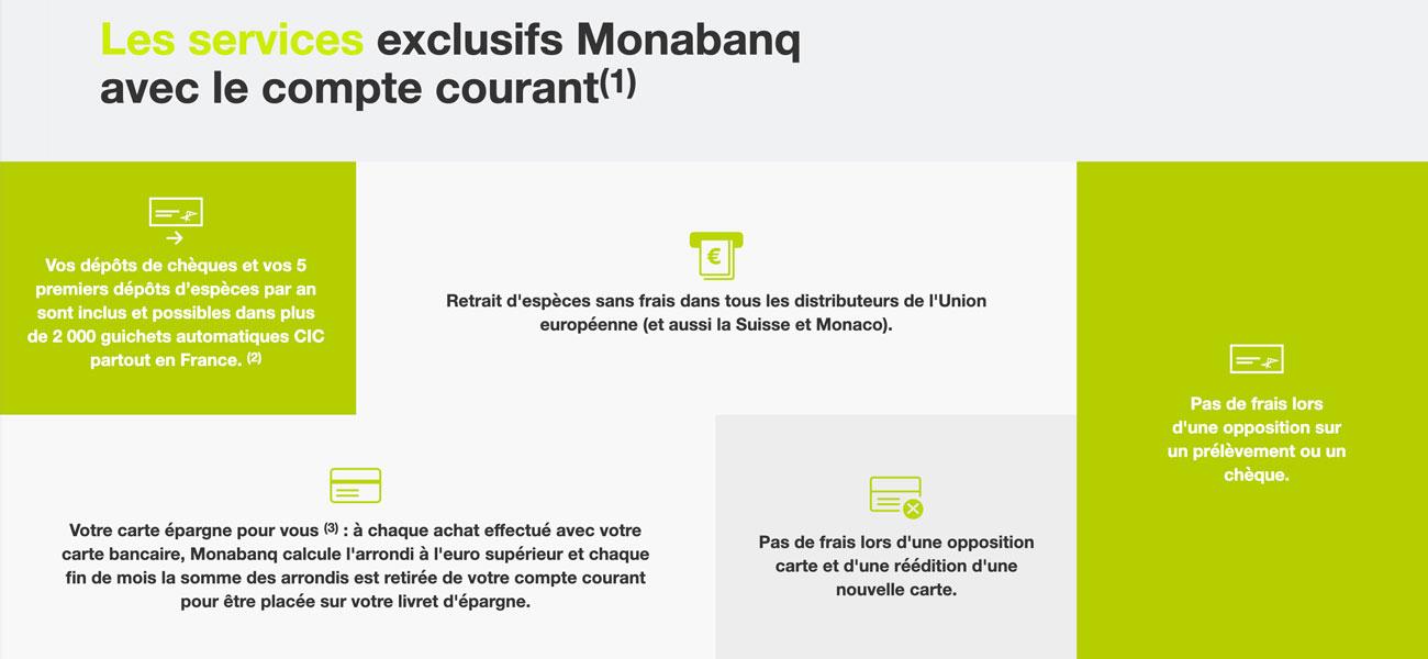 Monabanq dépôt espèces