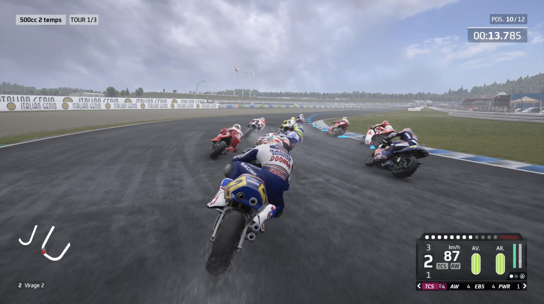MotoGP - Mode Historique