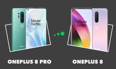 OnePlus 8 Pro vs OnePlus 8