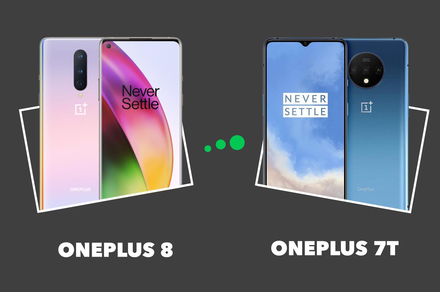 OnePlus 8 vs OnePlus 7T