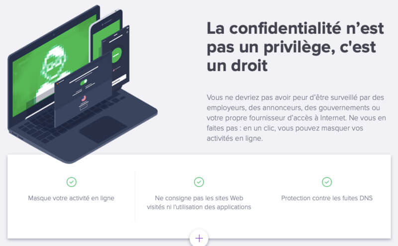 sécurité Avast VPN Secureline