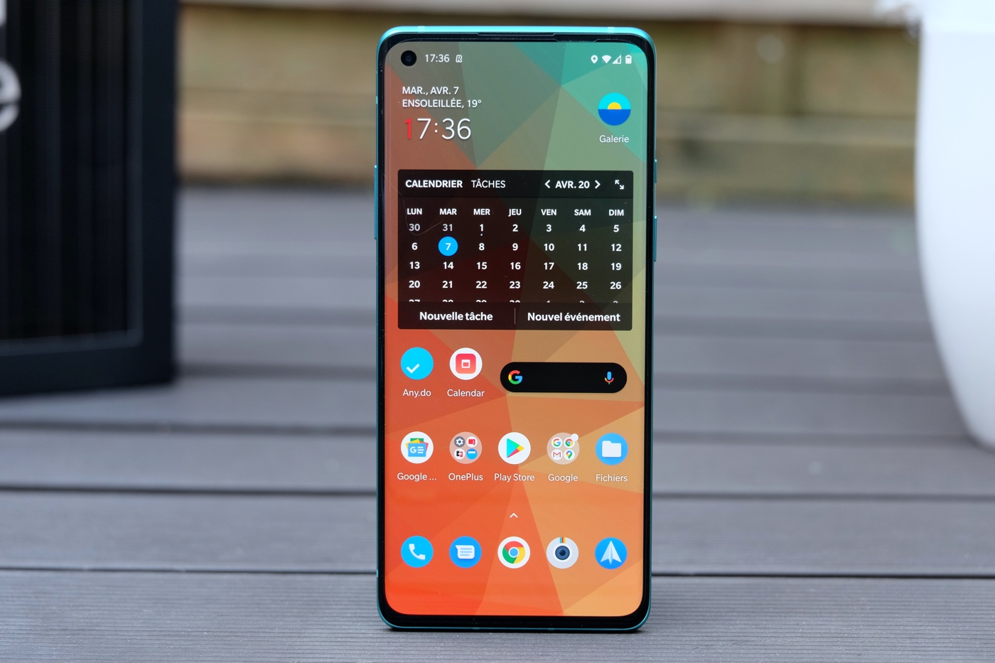 test oneplus 8 dalle