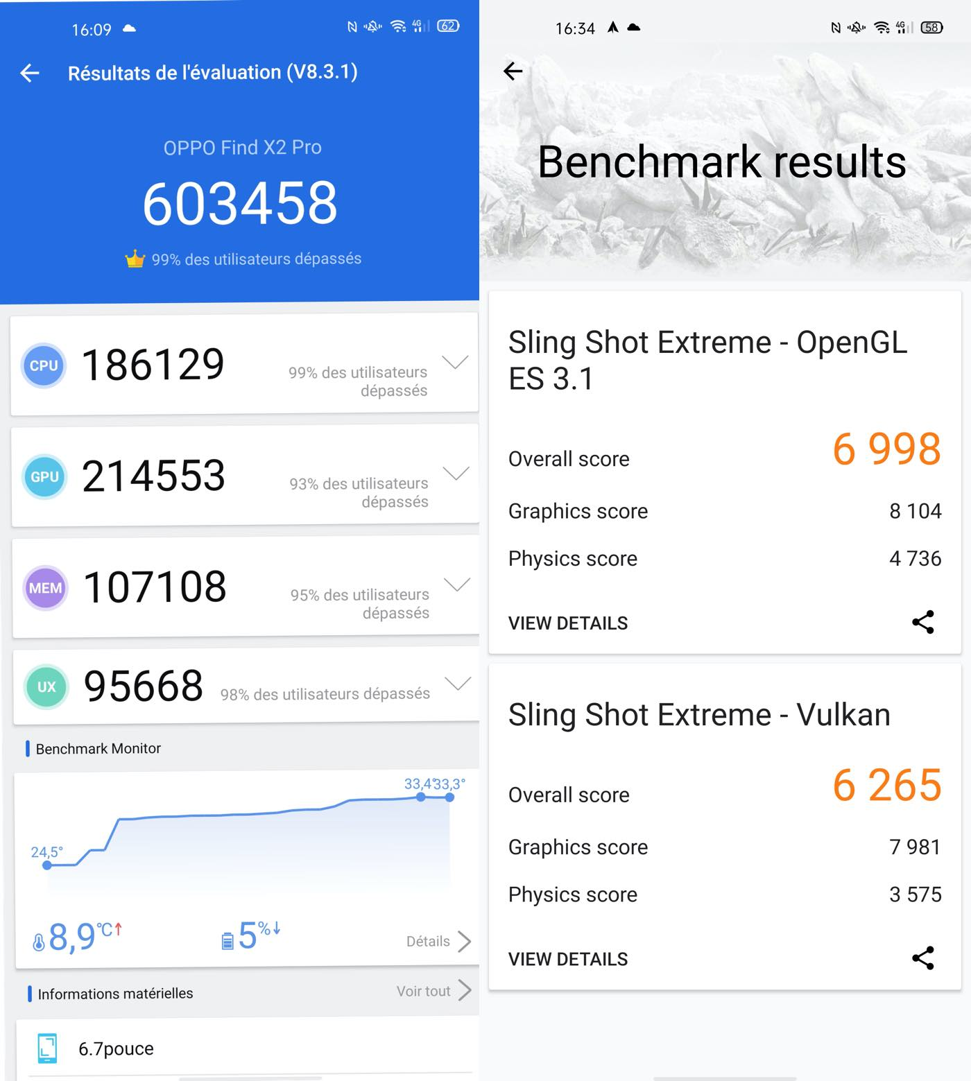 test oppo find x2 pro benchmarks