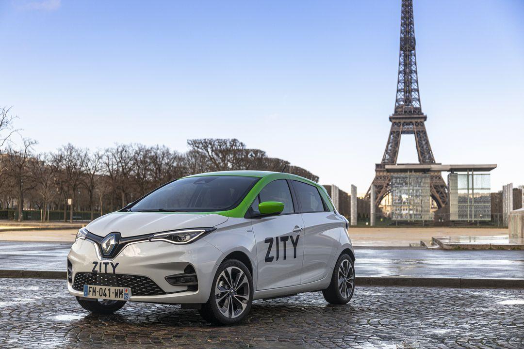 Renault ZITY Paris