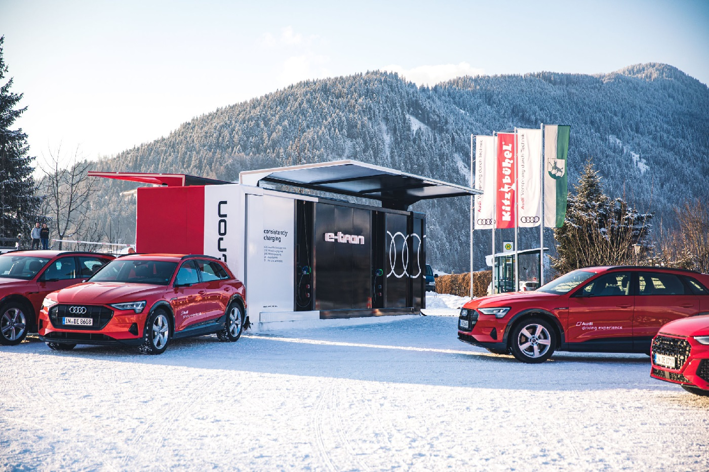 Audi e-tron mobile charger