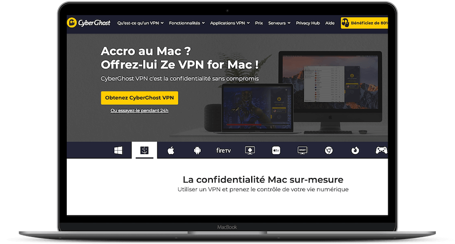 CyberGhost Mac