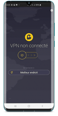 CyberGhost pour Android