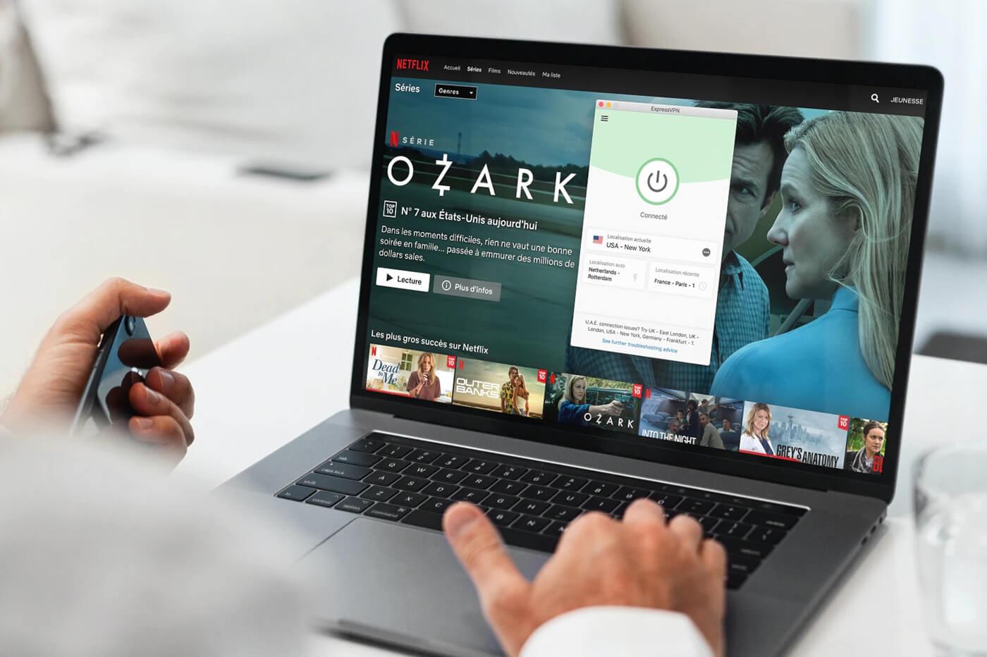 ExpressVPN debloque Netflix