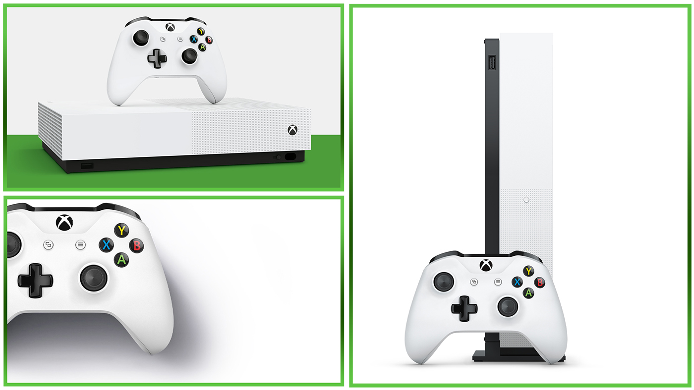 Fiche Xbox One S All Digital Edition