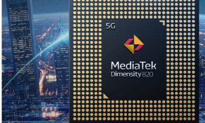 Le Dimensity 820 de Mediatek