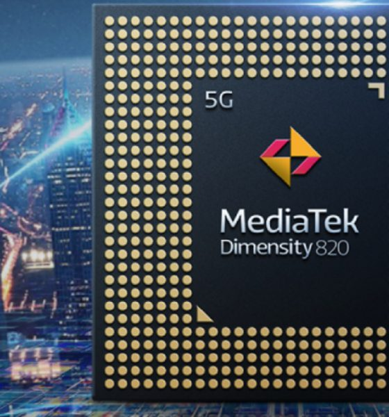Le Dimensity 820 de Mediatek