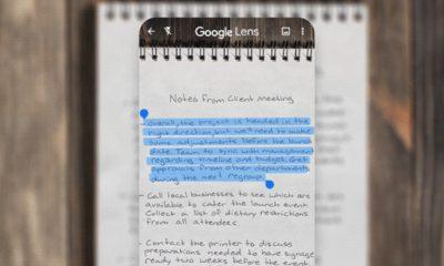Le scanner de Google Lens