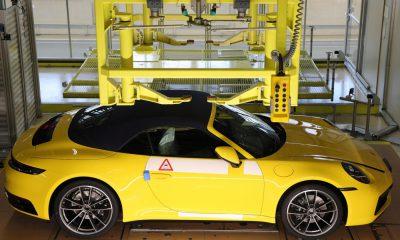 Porsche fabrication en direct