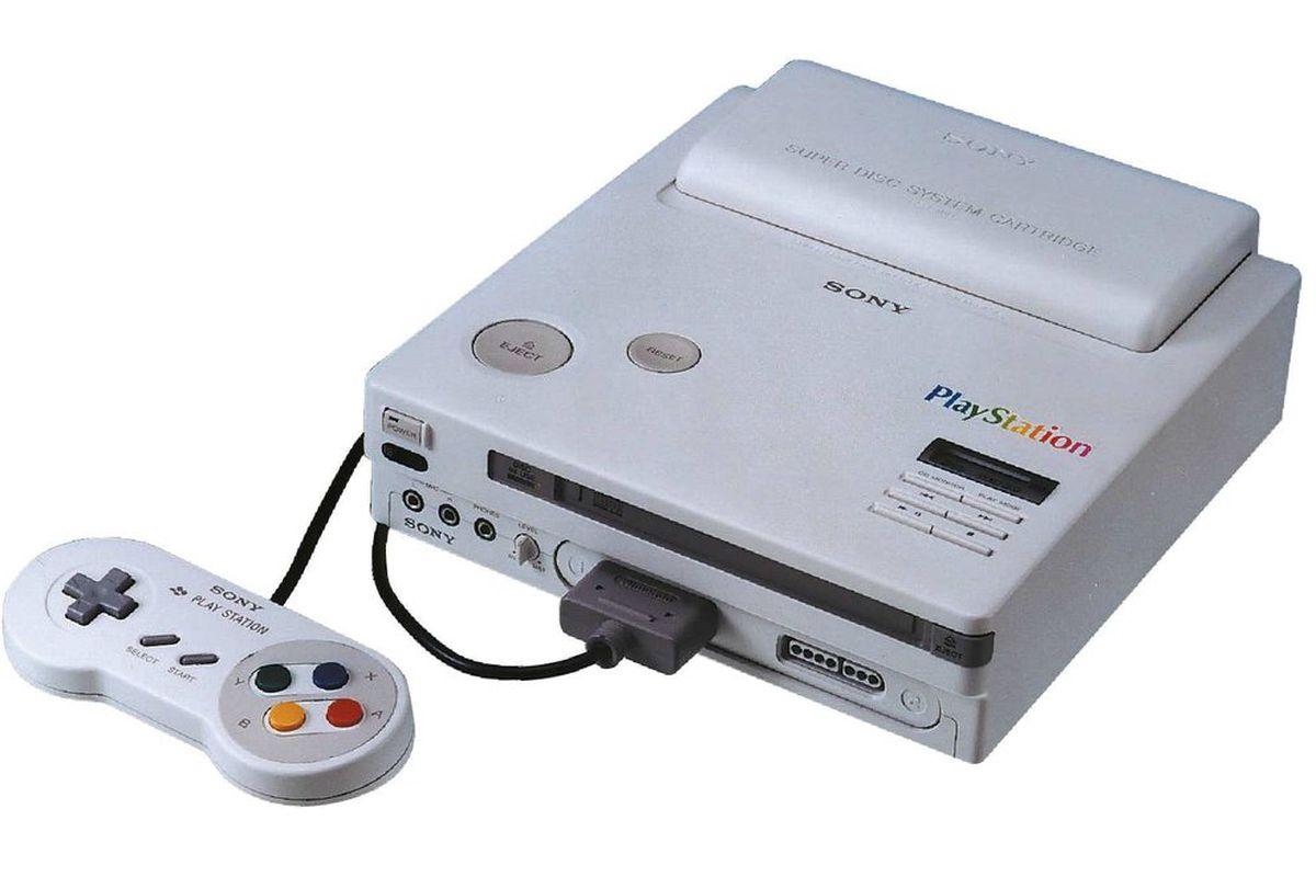 Prototype Play Station Nintendo